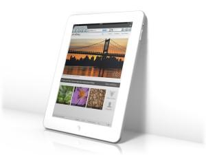 Web adaptada para vender vía tablets