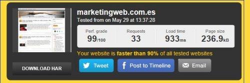 Herramientas para medir autoridad y relevancia de una web - carga de la URL