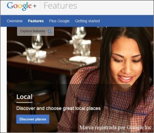 Google Plus permite convertir una página de empresa en local