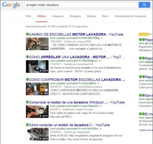 Palabras clave correctas para tu video en Google